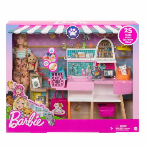 Mattel Barbie® Pet Boutique Playset Perspective: front