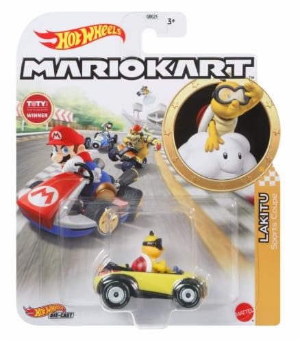Mattel Hot Wheels® MarioKart Lakitu Sports Coupe Vehicle Perspective: front