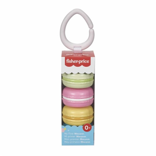 Fisher Price My First Macaron Play Set Perspective: front