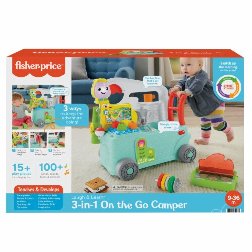 Fisher-Price® Laugh & Learn 3-in-1 On the Go Camper Perspective: front