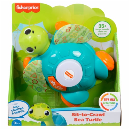Fisher-Price® Linkimals Sit-to-Crawl Sea Turtle Perspective: front