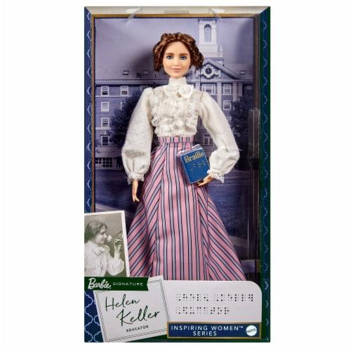 Mattel Barbie® Inspiring Women Helen Keller Doll Perspective: front