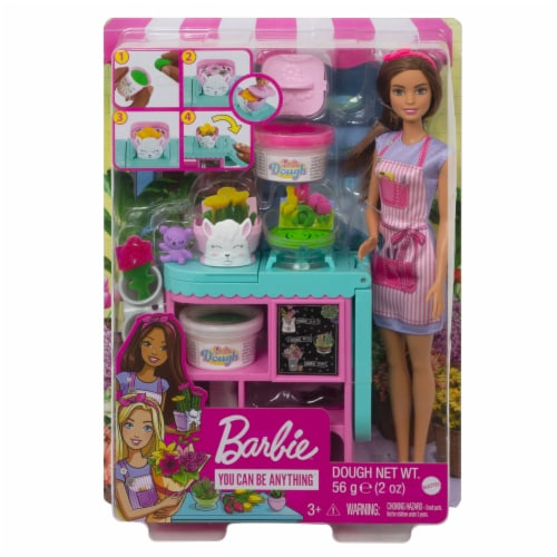 Mattel Barbie® Florist Doll and Playset Perspective: front