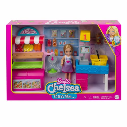 Mattel Barbie® Chelsea Can Be Doll and Playset Perspective: front