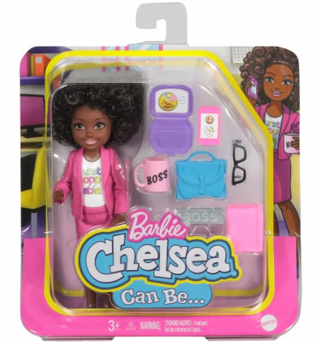 Barbie® Chelsea™ Career Boss Doll Perspective: front