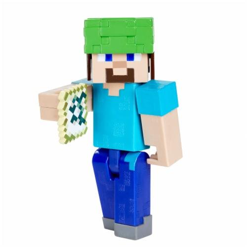 Mattel Minecraft Underwater Steve Figure Perspective: front