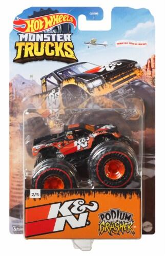 Mattel Hot Wheels® Monster Trucks Rodger Dodger Pro Race Wheeled Vehicle Perspective: front