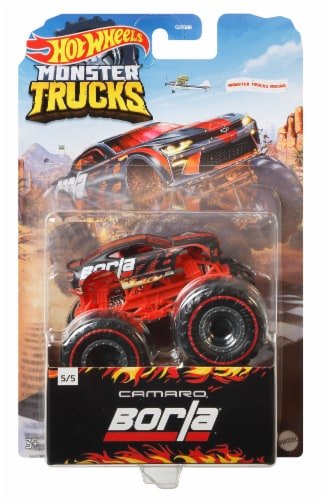 Mattel Hot Wheels® Monster Trucks Camaro Pro Race Wheeled Vehicle Perspective: front