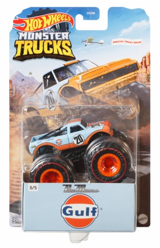 Mattel Hot Wheels® Monster Trucks Pure Muscle Pro Race Wheeled Vehicle Perspective: front
