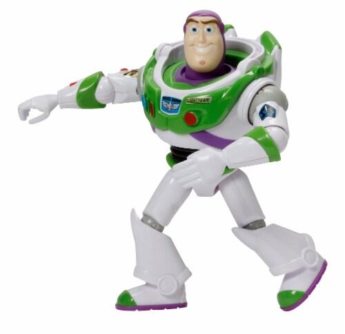 Mattel Disney Pixar Toy Story Buzz Lightyear Action Figure Perspective: front