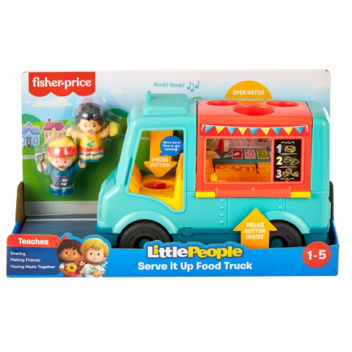 Mattel Fisher-Price® Little People Serve It Up Food Truck Perspective: front