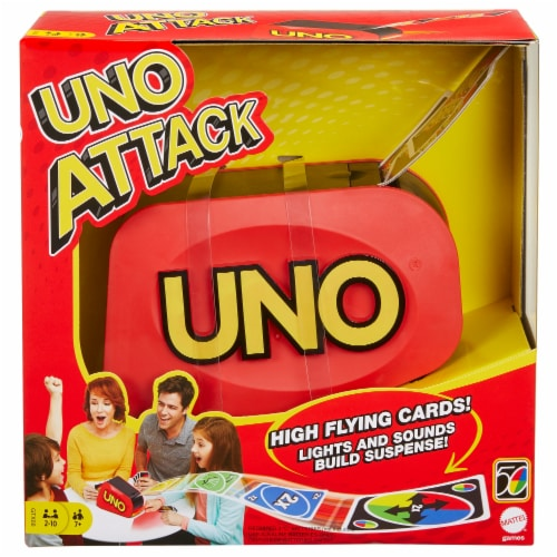 Mattel UNO Attack Card Game Perspective: front