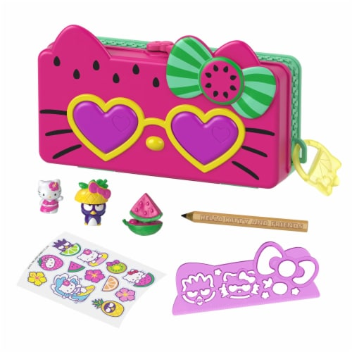 Hello Kitty and Friends Minis Beach Pencil Playset Perspective: front