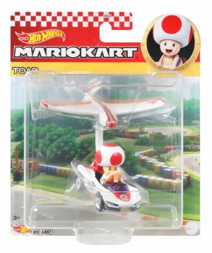 Mattel Hot Wheels® Mario Kart Toad Plane Glider Perspective: front