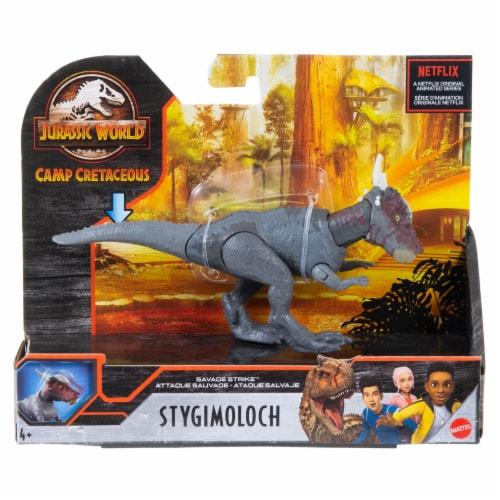Mattel® Jurassic World Savage Strike Stygimoloch Stiggy Dinosaur Perspective: front