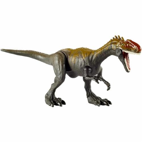 Jurassic World Camp Cretaceous Savage Strike Monolophosaurus Dinosaur Figure w/ Attack Move Perspective: front