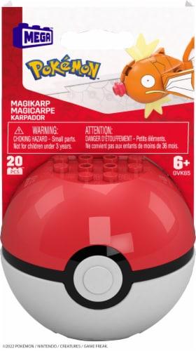 Mega Construx Pokemon Magikarp Construction Set Perspective: front