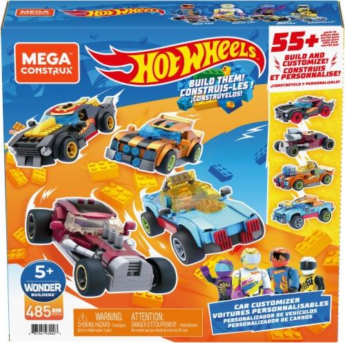 Mega Construx™ Hot Wheels® Build and Customize Car Set Perspective: front