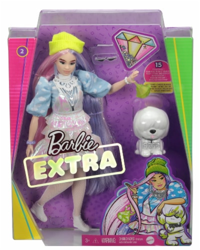 Barbie Fashionista Extra Doll - Assorted Perspective: front