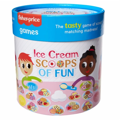Fisher-Price® Ice Cream Scoops of Fun Game Perspective: front