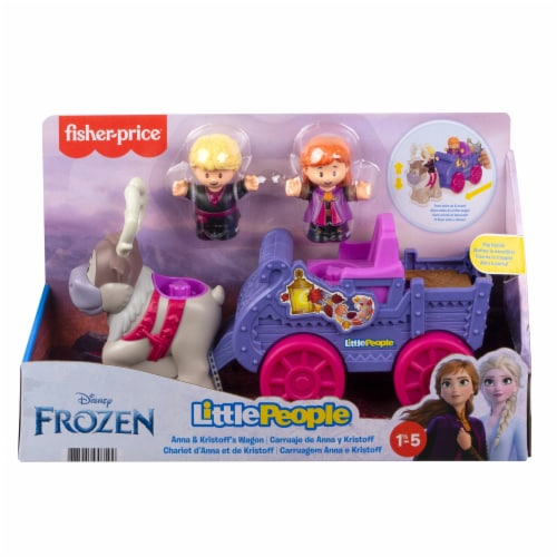 Fisher-Price® Little People Disney Frozen Anna and Kristoff Wagon Perspective: front