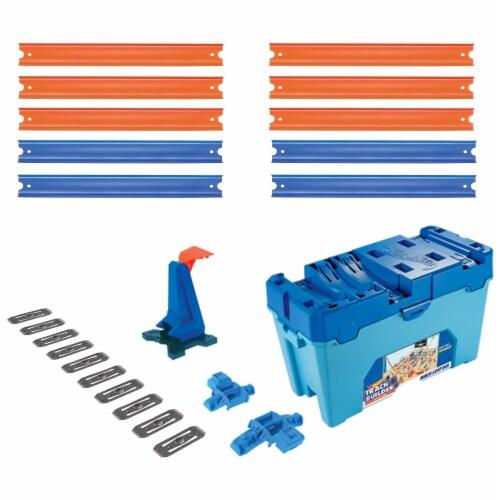 Mattel Hot Wheels® Track Builder Multi Loop Box Perspective: front