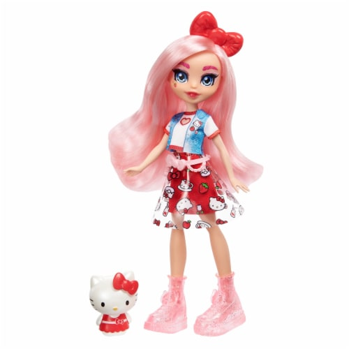 Hello Kitty and Friends Hello Kitty & Eclair Doll Perspective: front