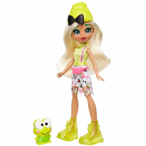 Hello Kitty and Friends Keroppi & Dashleen Doll Perspective: front