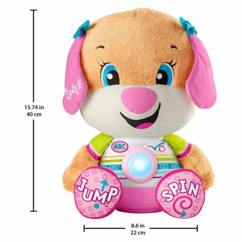 Fisher Price Laugh And Learn So Big Sis Plush Perspective: front