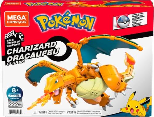 Mega Construx™ Pokemon Charizard Construction Set Perspective: front