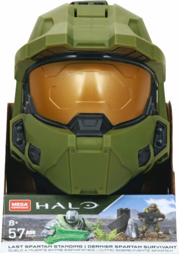 Mega Construx™ Halo Master Chief Action Figure Perspective: front