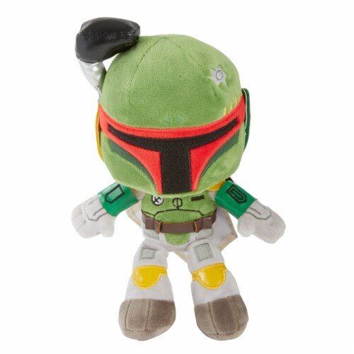 Star Wars Boba Fett 8 Inch Plush Figure Perspective: front