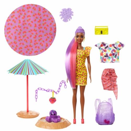 Mattel Barbie® Color Reveal Foam Doll Perspective: front