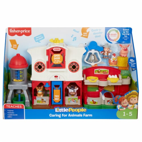 Fisher-Price® Little People Caring for Animals Farm set Perspective: front