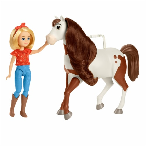 Mattel Spirit Untamed Abigail and Boomerang Perspective: front