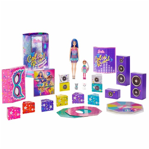 Mattel Barbie® Color Reveal Surprise Party Dolls and Accessories Perspective: front