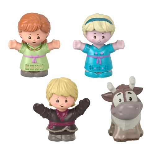 Fisher-Price® Little People Disney Frozen Young Anna and Elsa & Friends Figures Perspective: front