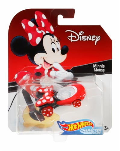 Mattel Hot Wheels® Minnie Mouse Character Car Perspective: front