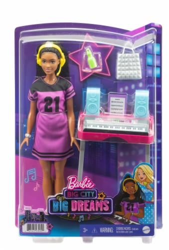 Mattel Barbie® Big City Big Dreams Doll and Playset Perspective: front