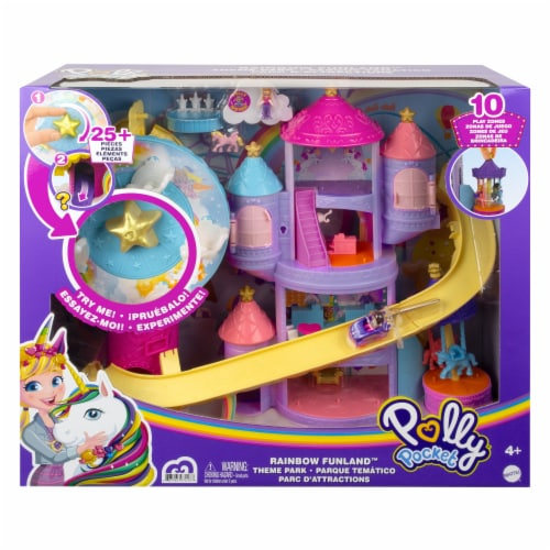 Mattel Polly Pocket Fantasy Fairy Doll Perspective: front
