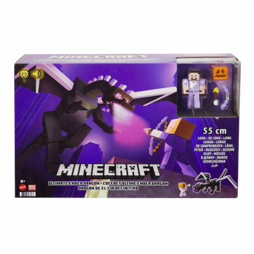 Mattel Minecraft Ultimate Ender Dragon Set Perspective: front