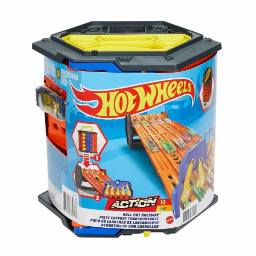 Mattel Hot Wheels® Roll Out Raceway Track Set Perspective: front