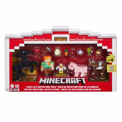 Mattel Minecraft Farm Life Adventure Pack Perspective: front