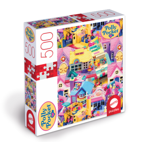 Mattel Polly Pocket Puzzle Perspective: front