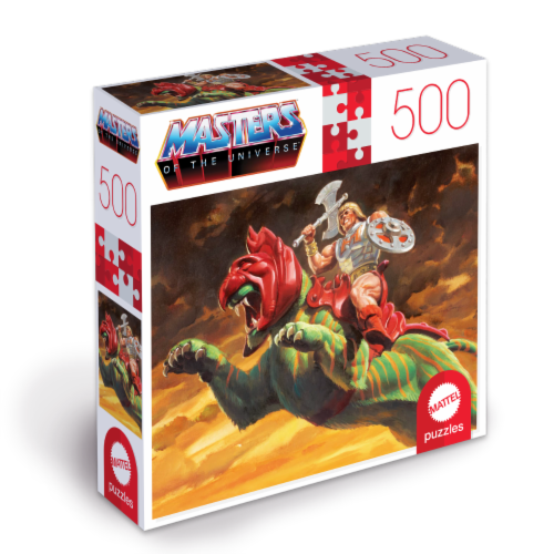 Mattel Masters of the Universe Puzzle Perspective: front