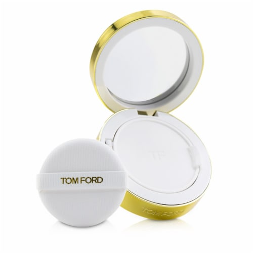 Tom Ford Soleil Glow Tone Up Hydrating Cushion Compact Foundation SPF40  # 1.3 Warm Porcelain Perspective: front
