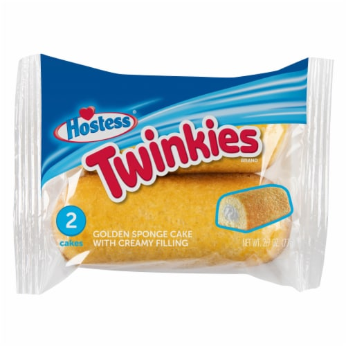 Hostess Single-Serve Twinkies 2 Count Perspective: front