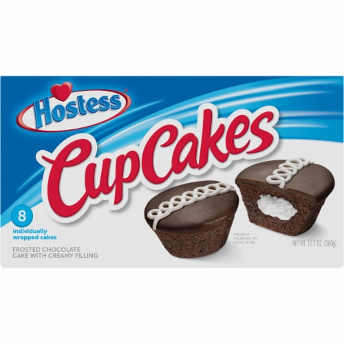 Hostess® Chocolate Cupcakes Perspective: front