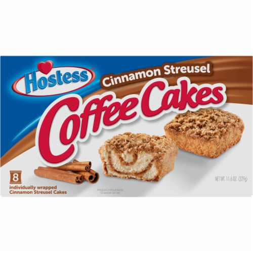 Hostess® Coffee Cakes Perspective: front