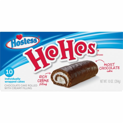 Hostess HoHos 10 Count Perspective: front